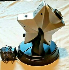 Twilight Laser Star Projector Can You Imagine Gray Black Night Light #5106