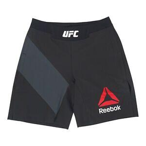 UFC Reebok Men's Gladiator Black Shorts