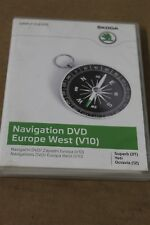 CHECK WITH US 1st Skoda Columbus Europer DVD disc New genuine Skoda part