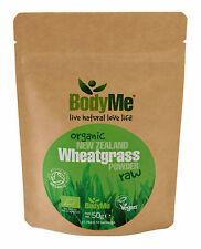 BodyMe Organic New Zealand Wheatgrass Powder 50 g (Soil Association Certified)