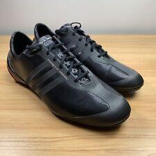 Porsche Design Black Leather Athletic Shoes for Men for sale