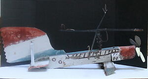 AIRPLANE FOLK ART WEATHERVANE