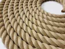 24mm Synthetic Hemp Rope - Polyhemp - Garden Rope - By The Metre