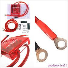 New Red Automobile Voltage Stabilizer Regulator Kit With Digital Voltage Display