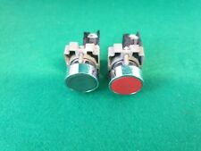 Telemecanique Push Button Switches Red,Green
