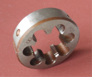 New 1 pc Metric Left Hand Die M34 X 1.5mm Dies Threading Tools M34x1.5 mm pitch
