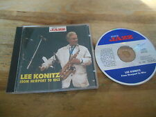 CD Jazz Lee Konitz- From Newport To Nice (13 Song) MUSICA JAZZ