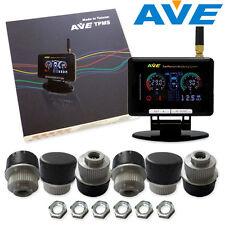 AVE Universal Truck TPMS LCD 6 Sensor /4 Wheel Pickup Cab + Single Axle Trailer