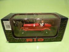 RIO 1:43  - ALFA ROMEO P3  BENITO MUSSOLI  - IN ORIGINAL BOX -   GOOD CONDITION