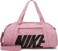 Nike Fitness Gym Club Women Ladies Shoulder Bag Pink Female Sport Training