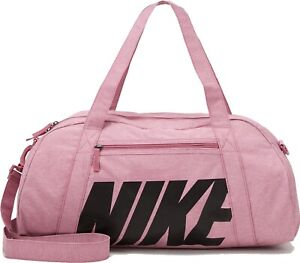 Nike Fitness Gym Club Women Ladies Shoulder Bag Pink Female Sport Training