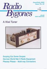 Radio Bygones No 65 Jun/Jul 2000 VGC Kiwi Tuner German WW2 Plessey ScopSee Pic 2