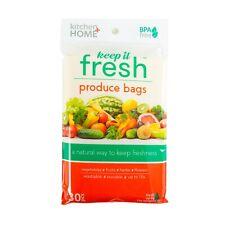 Keep it Fresh Produce Bags - Set of 30 Reusable Freshness Storage Food Savers