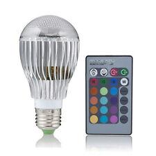 9W 9Watt E27 16 Colors LED Magic Spot Light Bulb fit Holiday Decorations Christm