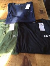 Jack and Jones Core long sleeved 2 button t shirt (3 colours)