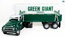 Awesome Vintage 1950s Restored Tonka 'Giant Green Brand' Truck & Trailer