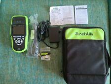 Netally Lrat 2000 Linkrunner At Copper And Fiber Ethernet Network Tester