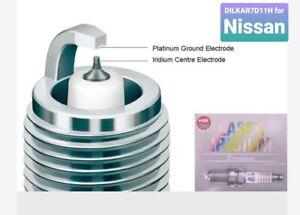 NGK DILKAR7D11H x 4  Laser Iridium Premium for Nissan X-Trail Quashqai & Dualis