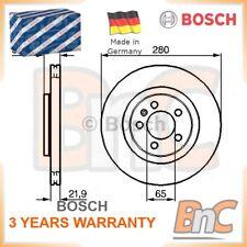 2x BOSCH FRONT BRAKE DISC SET SKODA VW SEAT AUDI OEM 0986478852 1J0615301E