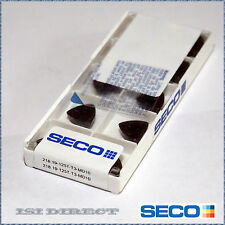 218.19-125T-T3-MD10 T350M SECO *** 10 INSERTS *** FACTORY PACK ***