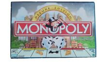 Monopoly Deluxe Edition Board Game Parker Brothers 1998
