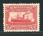 NEWFOUNDLAND MNH Selections: Scott #164 2c Deep Carmine Ship CV$2