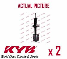 2 x NEW KYB FRONT AXLE SHOCK ABSORBERS PAIR STRUTS SHOCKERS OE QUALITY 635807