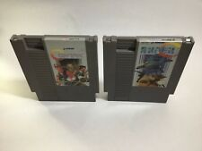 Contra + Super C Lot Nintendo NES Clean Tested Working