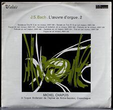 Bach Chapuis St Sauveur, Copenhague Oeuvre d'orgue vol 2 MB 842 LP & CV NM