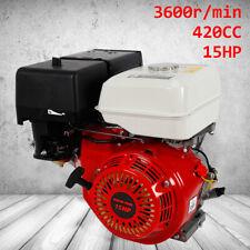 Moteur à essence 15 ch 9 kW Support moteur Kart moteur 4 temps 1 cylindre 25mm