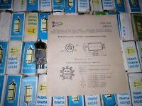 6x 6N24P ~ 6FC7, ECC89 / Vintage Double Triode Tubes / New / Individual boxes!