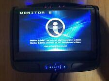 Invision DVD Headrest Monitor B DSLM7AB1 factory oem slimline 7 SL7 rear system