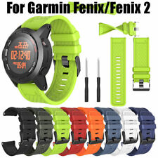 For Garmin Fenix/Fenix 2 Replacement Watch Band Silicone Wrist Strap With Tool