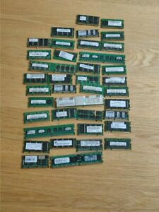 joblot around 40 units of memory for computer samsung/kingstom others