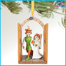 Disney Robin Hood & Maid Marian Sketchbook Christmas Ornament brand new