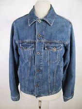 VTG Men's Tommy Hilfiger Denim 100% Cotton Premium Jean Jacket Size M A4163