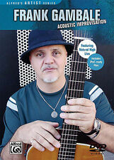 FRANK GAMBALE - ACOUSTIC GUITAR IMPROVISATION NEW DVD