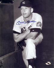 """1952 MICKEY MANTLE AUTOGRAPHED 8X10 YOUNG 8X10"""" PHOTO SIGNED REPRINT"""