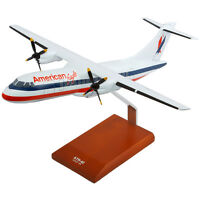American Eagle ATR-42 Desk Top Display Regional 1/48 Model Aircraft ES Airplane