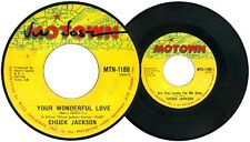 Philippines CHUCK JACKSON Your Wonderful Love 45 rpm Record