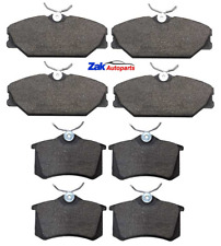 FOR RENAULT SCENIC MK1 (1999-2003) FRONT AND REAR BRAKE PADS SET NEW