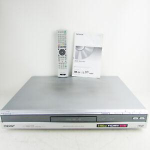 Sony RDR-HXD860 160GB HDD DVD Recorder DVD+RW/+R/-RW/-R + Remote & Manual