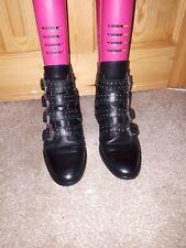 Ladies Riverisland Ankle Boots Black Size 5