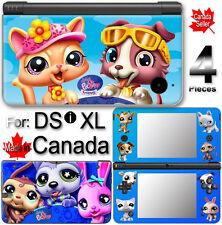 Littlest Pet Shop SKIN COVER VINYL STICKER 2 for DSi XL