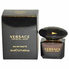 Mini Versace Crystal Noir by Versace 0.17 oz EDT Perfume for Women New In Box
