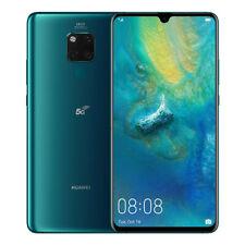 "NUOVO Huawei Mate 20 x 5G VERDE 7.2"" 256GB DUAL SIM 8GB Android 9.0 SIM Gratis Regno Unito"