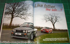 BMW Car July 2008 - E70 X5 - E36 M3 Saloon - E30 Convertible vs E87 - E60 M5