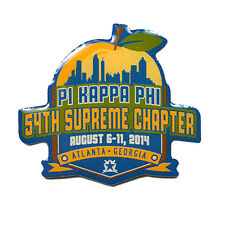 Pi Kappa Phi Fraternity Supreme Chapter Lapel Pin - 2014 Pi Kapp