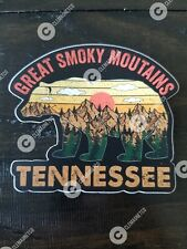 Great Smoky Mountains Tennessee STICKER - National Park Hiking Outdoor Vinyl