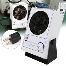 Ionizing Air Blower Fan Ion Anti-Static Desktop Ionizer Eliminator 45~110Cfm Usa